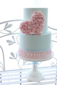 heart wedding cake stunning wedding cakes with one large accent hearts flowers bows