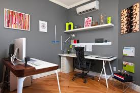 Cheerful Office Decorating Tips  Best Home Office Decorating - Decorating ideas for home office