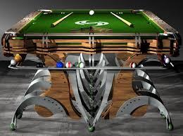 Custom Pool Tables by Mantis Custom Pool Table The Awesomer