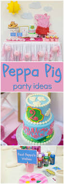 peppa pig birthday ideas we heart peppa pig 2nd birthday party
