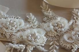 wedding sashes and belts bridal sashes and belts vintage flower 14 inches bridal