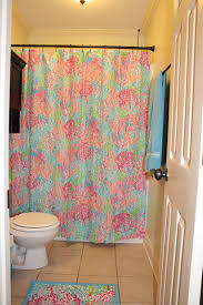 anchors and pearls august 2015 lilly pulitzer shower curtain