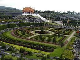 Largest Botanical Garden by Suan Nong Nooch Thailand Santa Rita Landscaping