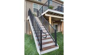 ada handrail systems for decks trex