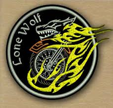 lone wolf biker embroidery design 1 size 8 formats embrostitch