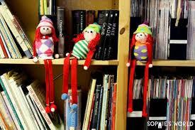 on a shelf how to make an on a shelf sock doll