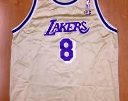 vintage 90s kobe bryant la lakers authentic starter jersey