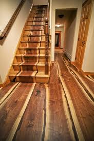 Laminate Floor For Stairs Our Live Edge Flooring Went Viral U2014 Real Antique Wood