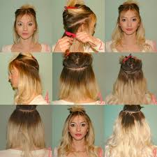 pics pf extentions with short hair clip in hair extensions for short hair hairextensions virginhair