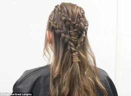 daenerys style hair game of thrones daenery s hair guide in 9 easy steps daily mail