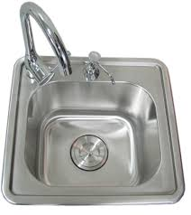 sunstone 17 inch single sink with u0026 cold water faucet