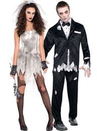 Zombie Halloween Costumes Party Zombie Bride Costume Party Gardening Love