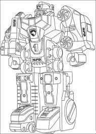 ranger transformer coloring free printable coloring pages