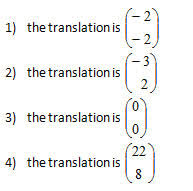 translation of a point worksheet and solutions