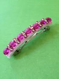 barrette hair clip 96 best hair crafts barrettes images on barrette