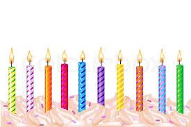 birthday candles birthday candles stock photo colourbox