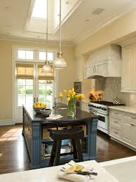 kitchen style butchen block countertop all white modern french