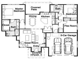 rambler floor plans with a loft by iciodesign
