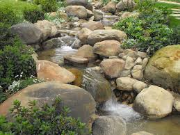 Fake Rocks For Landscaping by Creeks And Streams Garcia Rock And Water Design Blog