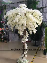 sjorchid01 popular high quality artificial white flower tree pu