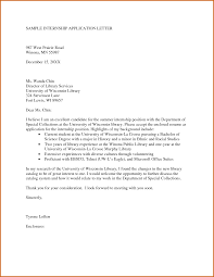 cover letter for college internship sample college cover letter