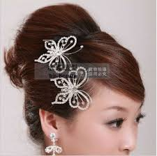butterfly for hair free shipping water luxury rhinestone noble crown