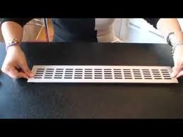 grille ventilation cuisine grille aération alu encastrable