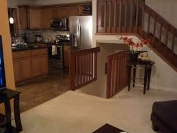 Kitchen Designs For Split Level Homes Banisters For A Split Level Home Transitional Style