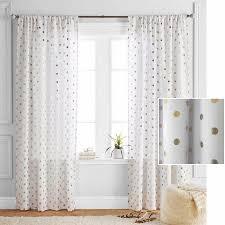 Polka Dot Curtains Better Homes And Gardens Polka Dots Curtain Panel Walmart
