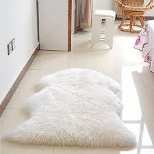 Rug On Carpet Pad Aliexpress Com Buy New Soft Faux Sheepskin Rug Mat Carpet Pad