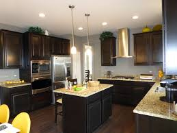 big cooker featured many recessed downlights kitchen makeover six