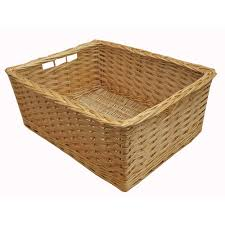 wicker storage baskets from the basket company
