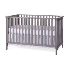 Gray Convertible Crib by Child Craft 3 In 1 Convertible Crib London Colours Cool Gray
