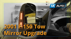 ford f150 replacement mirror how to install replace upgrade tow mirrors 1997 03 ford f 150