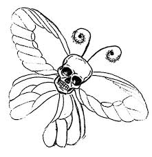 skull butterfly tattoo by dvampyrelestat on deviantart