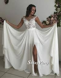 white lace prom dress white cap sleeves lace prom dress white lace wedding dress white