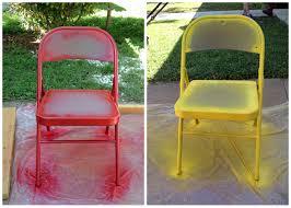 painted folding chairs semi diy