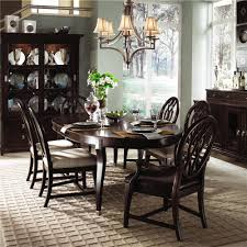 kincaid dining room sets a dark handsome solid wood set keeps things cool around the