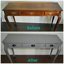 project ideas spray paint wood furniture plain diy painted console
