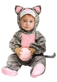 toddler costume toddler striped gray kitten costume