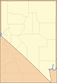 nevada counties map list of counties in nevada