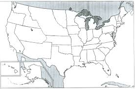 Outline Map Of The United States by Syllabus History 100 Unlv