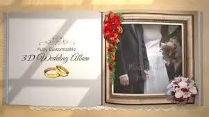 Custom Photo Album After Effects Template Custom 3d Wedding Album 50552878