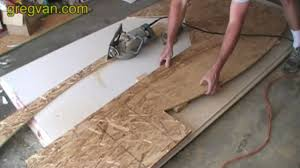 Cutting Laminate Flooring With A Circular Saw Cutting Second Side Of Arch Using A Skill Saw Wood Framing