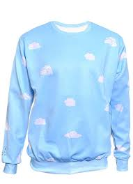 cloud sweater pastel cloud sweatshirt in clothing