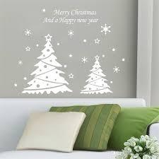 2016 new series of tree stickers xmas35 snowflake light