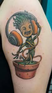 tattoo groot guardians of the galaxy shoulder tattoo tattoo for