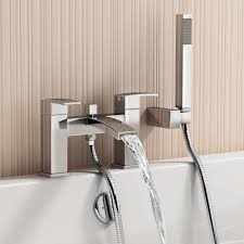modern bathroom tap set square water basin mixer bath filler modern bath basin chrome filler taps