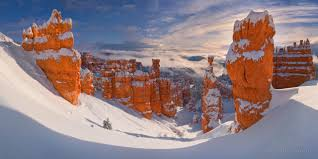 winter fortress thor s hammer bryce canyon national park utah