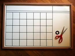 Diy Desk Calendar by Diy Calendar On A Whiteboard Clean And Organize Pinterest